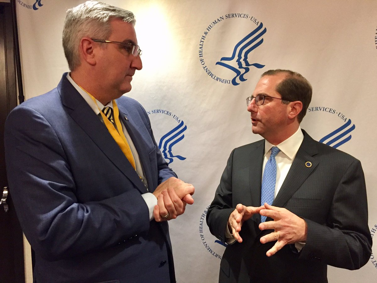 Drug Ceiling Regulations 340B Alex Azar HHS